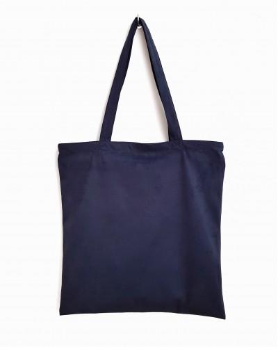 JANE NAVY BLUE TOTE BAG
