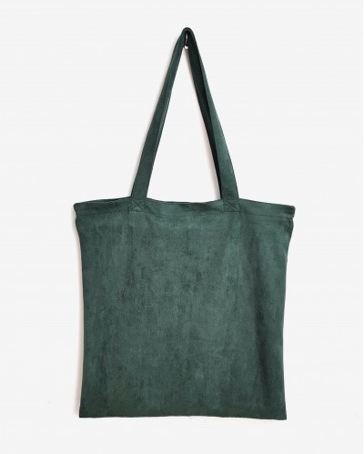 TOTE BAG JANE VERDE OSCURO