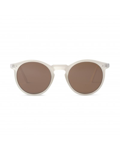 CHARLES IN TOWN JELLY WHITE SUNGLASSES