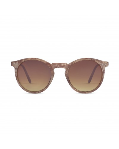 CHARLES IN TOWN BROWN NACRE SUNGLASSES