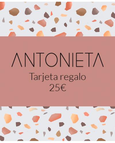 Targeta regal imprimible 25€